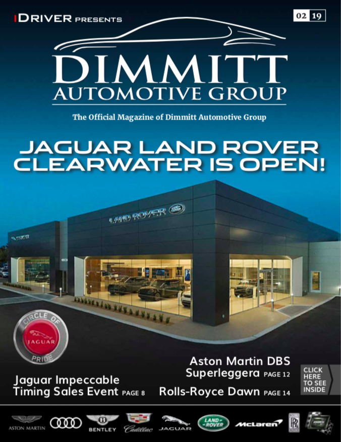 iDriver present Jaguar and Land Rover Clearwater issue