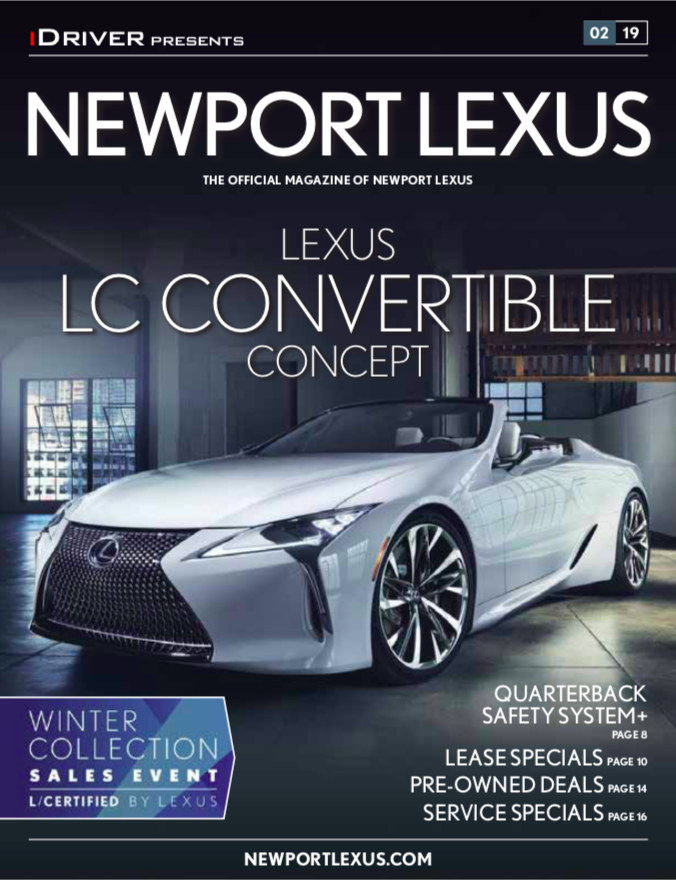 iDriver presents LC Convertible February issue