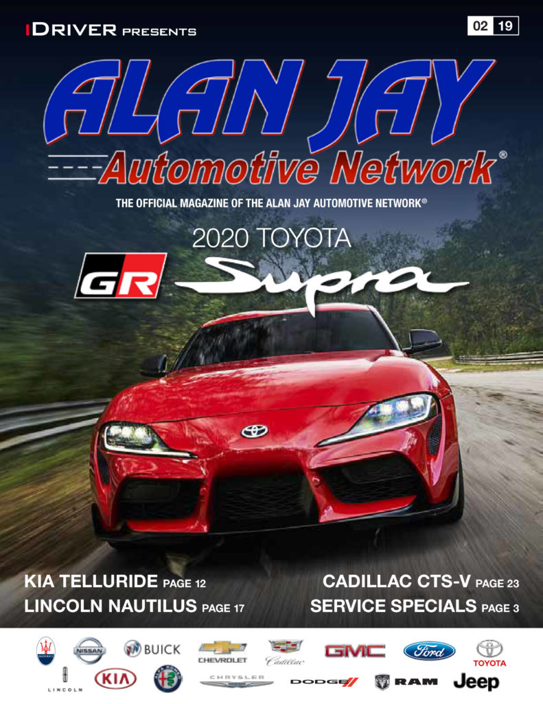 iDriver presents Alan Jay February issue 2020 Supra