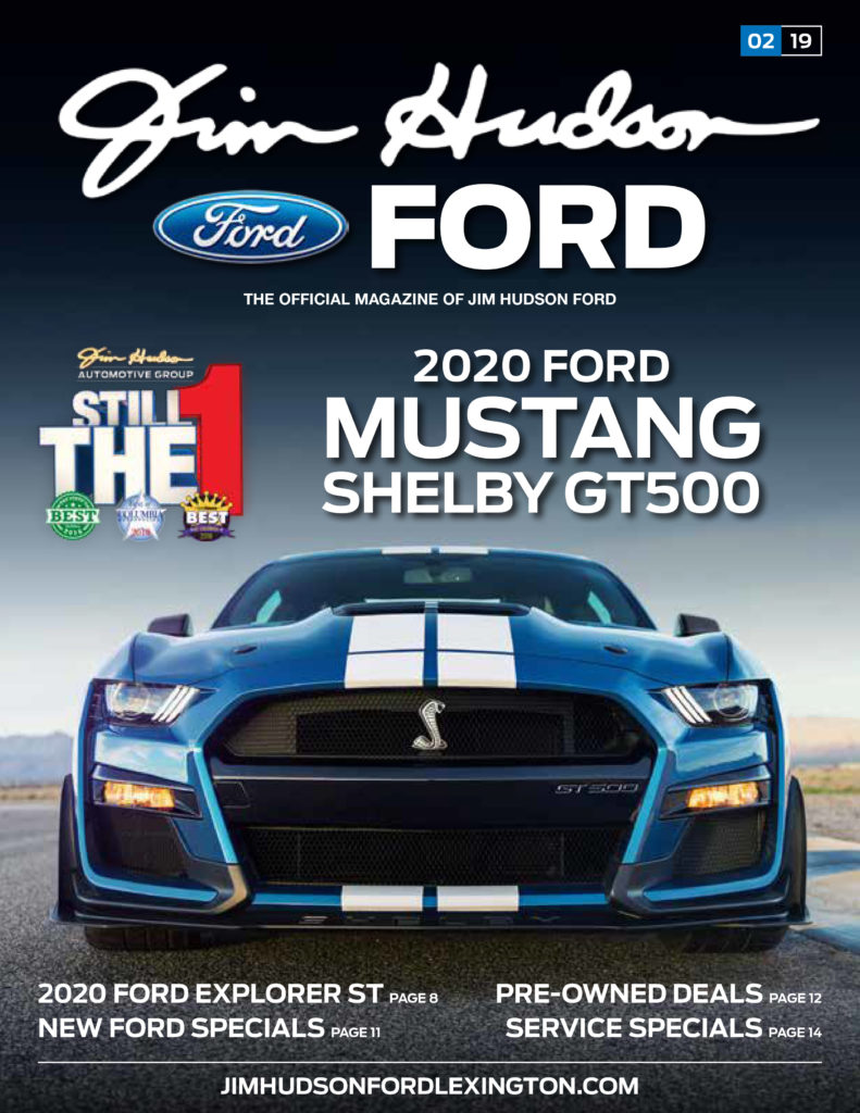 iDriver Presents 2020 Ford Shelby GT500 Feb issue